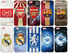 Wholesale Lot Painted Football Team Logo Cell Phone Cover For iphone 4 4S 5 5S SE 5C 6 6S Plus For iPod Touch 4 5 6 Mobile Case
