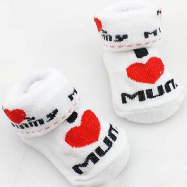 Горячая распродажа 100% носки младенца резиновые круто-устойчивых пола носки Dad ...