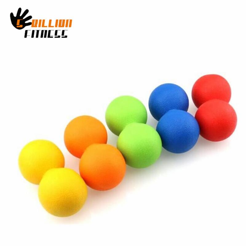 5-BillionFitness 1PC Foot Massage Ball Rubber Portable 14cm Lacrosse Balls Red Full Body Massager for Fitness Exercise Relaxing<br><br>Aliexpress