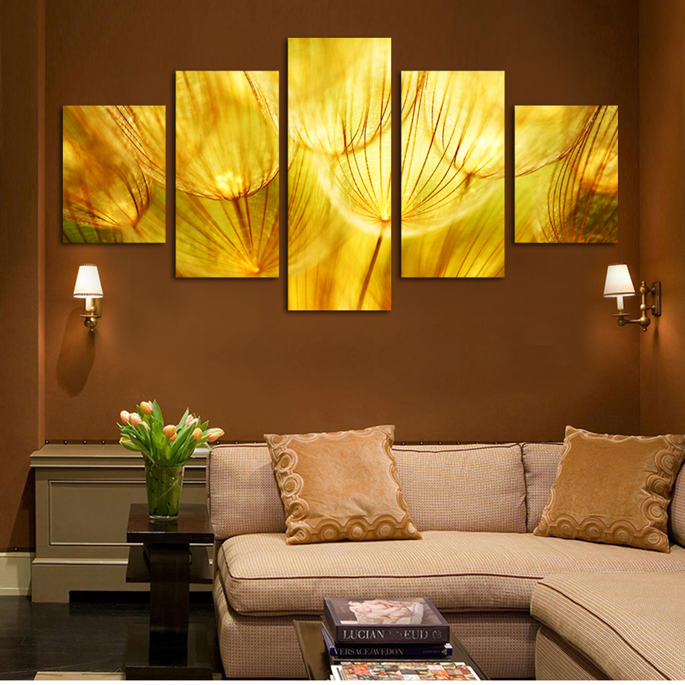 Popular gold wall art buy cheap gold wall art lots from for Gold wall art