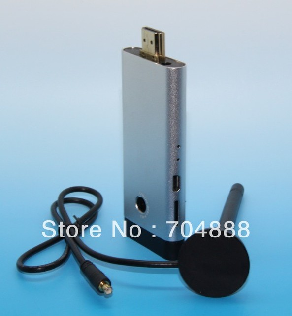 HK post free shippng Android Mini PC Rockchip3066  Dual Core  1GB/8GB build in Camera antenna skype video android tv box