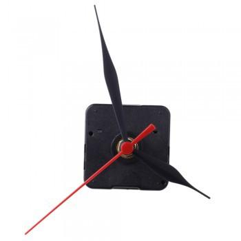 10pcs Clock Movement Mechanism Black Hour Minute Red Second Hand DIY Tools PartsSP0055(China (Mainland))
