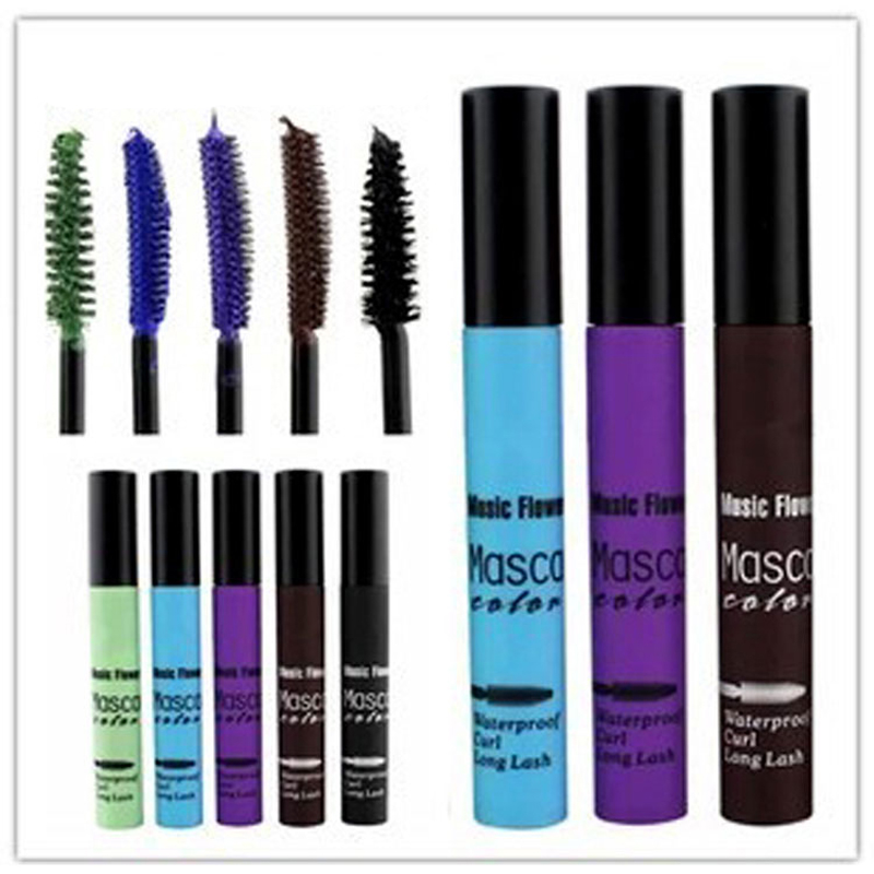Unique Colorful Mascara smudge-proof Party Makeup Magic Eyelash Blue/Green/Purple/Coffee/Black - Online Store 827750 store