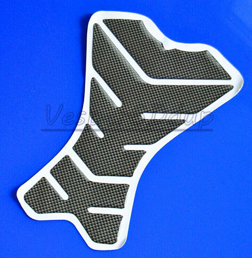 For Honda Yam Suz Kaw Ducati Harley Motorcycle Fishbone Carbon Fiber Sport Tank Pad Protector Stickers Decales QJC0241(China (Mainland))