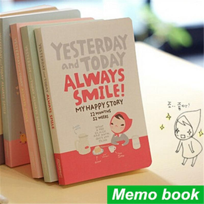 Cute Notebook Red hat girl Agenda week plan Diary Day planner journal record stationery office School supplies(China (Mainland))