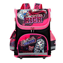 Orthopedic Children School Bags For Girls New 2016 Kids Backpack Monster High WINX Book Bag 3 Princess Sofia the First Schoolbag(China (Mainland))