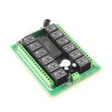 DC12V 12-CH wireless remote control switch for electronic door window 315MHZ 433MHZ