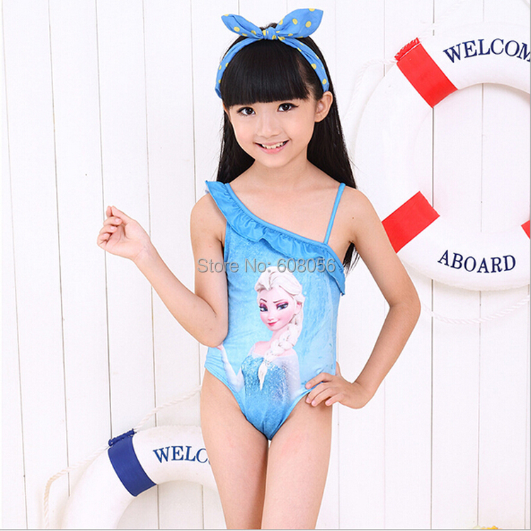 2014 children swimwear children's bathing suits baby & kids swimsuit new frozen girls bikini girl one piece - 3C&Furniture Supplier store