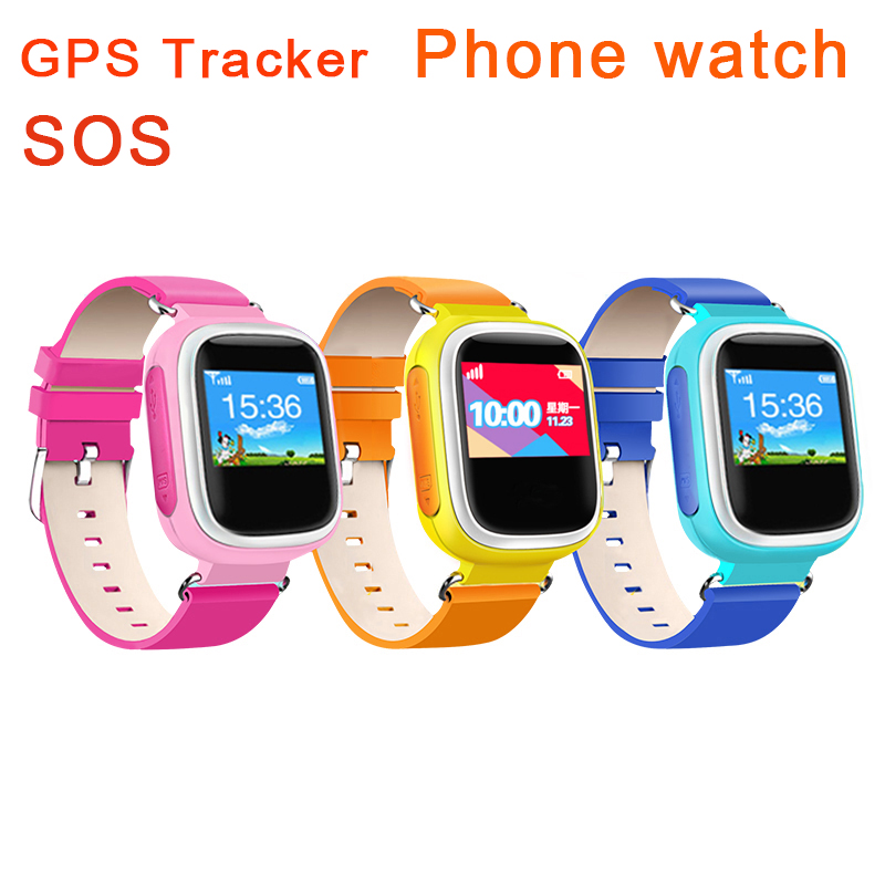 Wholesale Kid GPS Smart Watch SOS Call Location Finder Locator Device Tracker for Kids Safe Anti Lost Q60 Plus Multicolor(China (Mainland))