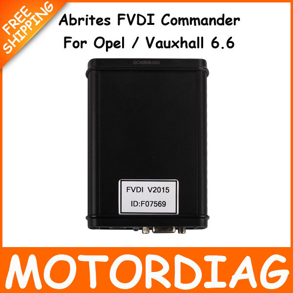 Avdi Opel Abrites FVDI Commander Vehicle Diagnostic Interface Scanner Escaner Automotive Scaner For Car For Opel Vauxhall 6.6(China (Mainland))