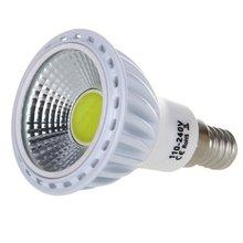 THGS E14 6W COB LED Lamp Spotlights Light Spot Lighting Luminaire Lamp 420LM 60 Degree AC 100-240V White(China (Mainland))