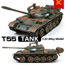 Military Model,1:32 alloy model t55 MBT tank,Metal tanks,Diecast cars,Good gift,free shipping(China (Mainland))