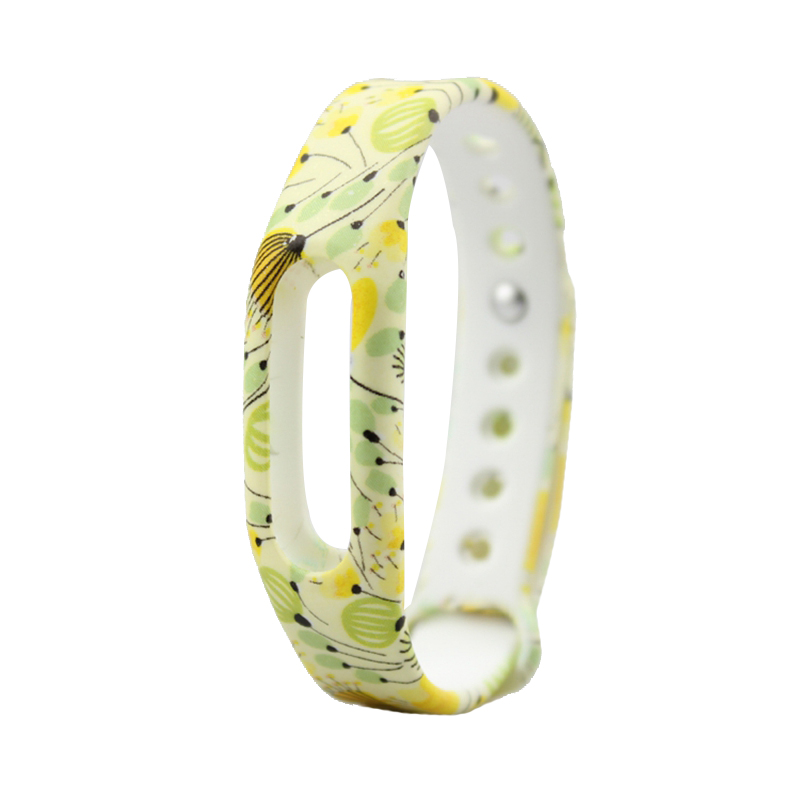 image for Ollivan Colorful Silicone Replacement Strap Wrist Band Bracelet Silica