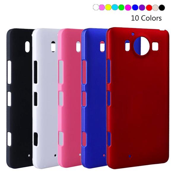 Capa For Lumia 650 Super Slim Rubber Matte PC Hard Case Cover For Microsoft Nokia Lumia 650 550 540 950 XL Back Skin Phone Bag(China (Mainland))