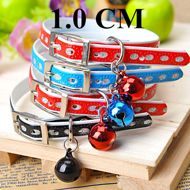 1.0 CM Newest 2016 Dog Collars&Leads Lovely Leash oval Dog rope collars With a little bell Leashes For Small dogs&Pet. PY063(China (Mainland))