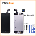 iPartsBuy for iPhone 5C LCD Display Front Camera Free Repair Tools Home Button Frame Touch Pad