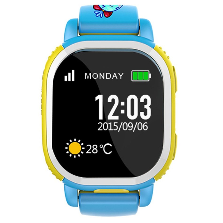 Tencent QQ Watch American Children Watch GPS Tracker Smartwatch Phone Camera LBS Location SOS Pedometer Alarm Weather Wristband(China (Mainland))