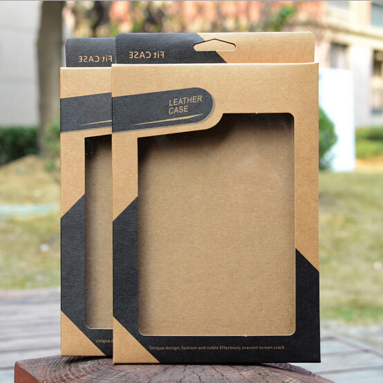 100pcs Kraft paper Retail Package Box for Apple ipad mini 2 3 Packaging Boxes Tablet PC 7.9 inch Leather Case Cover(China (Mainland))