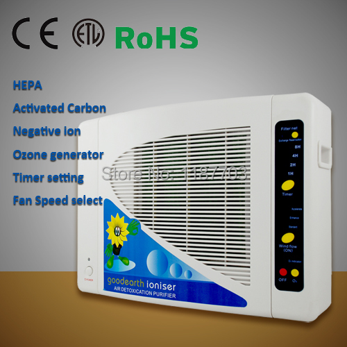 HEPA Air Purifier with Negative ion and Ozone GL-2108 for Home Air Cleaning Filter(China (Mainland))