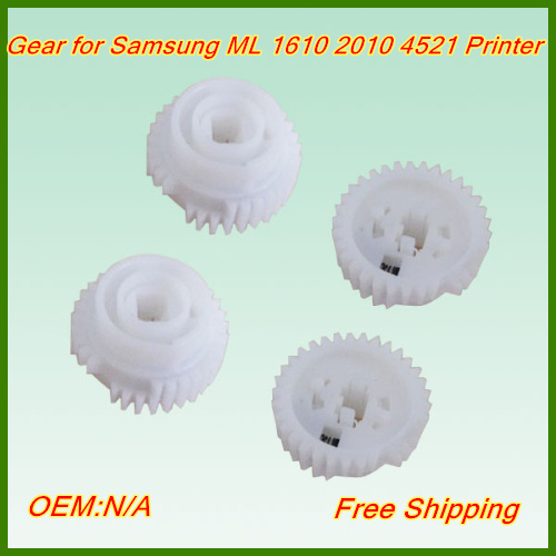 Free shipping Wholesale JC97-02179A pickup roller gear printer spare parts fuser gear for samsung ML1610 2010 4521 printer(China (Mainland))