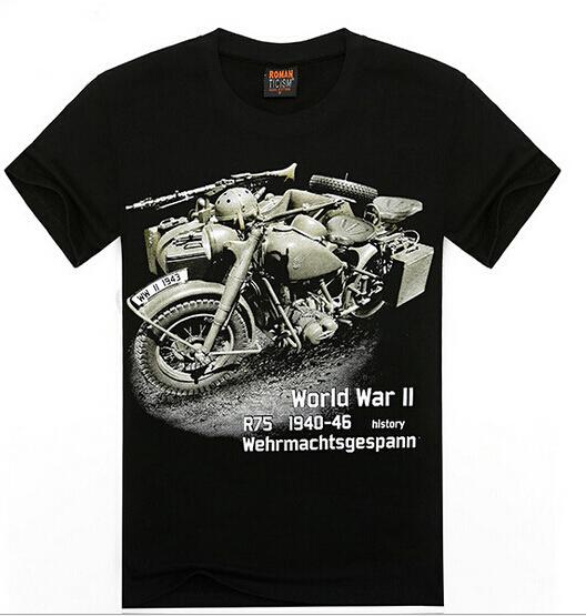 2015 new fashion Motorcycle t-shirt men 3d t shirt summer fighting plane printing summer 3D t-shirts o-neck short-sleeve A15(China (Mainland))