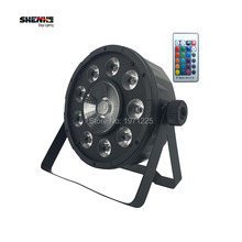 Buy , 20pcs Portable 9X10W+1X30W 3IN1 Night Lamp RGB controller LED Par Disco party stage light wedding decoration Fast for $750.00 in AliExpress store