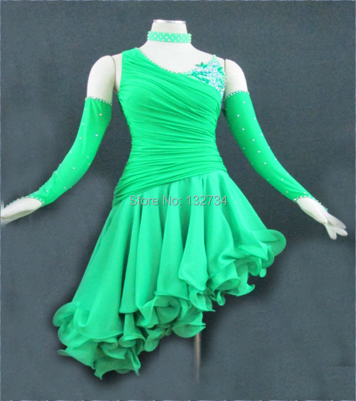 Latin dance/Waltz Tango Ballroom Dance Dress,Girls/Women Modern Dance/Perform Costume/Wear LD-0021Одежда и ак�е��уары<br><br><br>Aliexpress