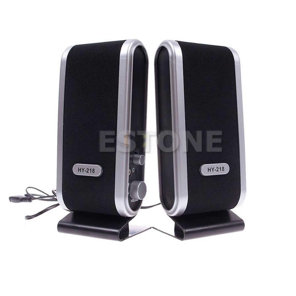 Consumer Electronics Shop - Free shipping  HOT 2x Mini USB Portable Speaker For Laptop PC Computer<br><br>Aliexpress