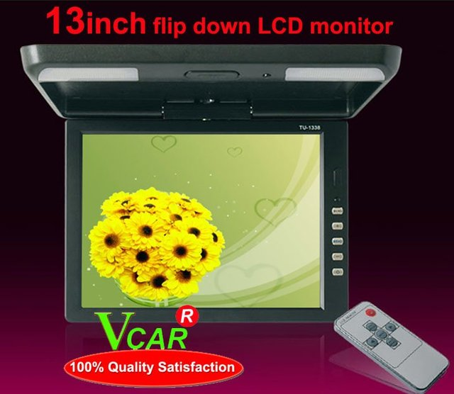 13 inch foor mount car video monitor