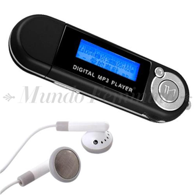 Portable 2GB LCD MP3 Music Player 2G USB Flash Drive FM Radio MP3/WMA Blacklight(China (Mainland))