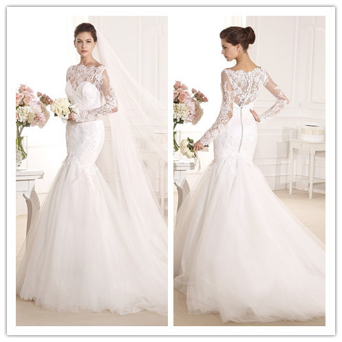 Buy best selling white sexy mermaid for Selling your wedding dress