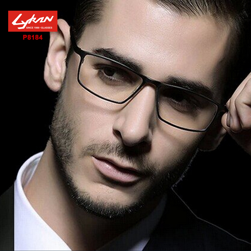 Fashion P8184 titanium eyeglasses optical classic frame Brand designer Men reading glasses frame suit computer glasses