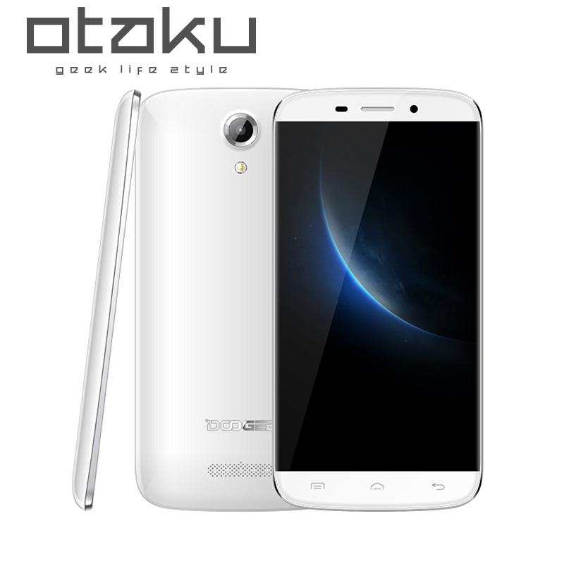 Original Doogee NOVA Y100X MTK6582 5 inch1280x720 Quad Core China moblie phone Dual Sim Android 5.0 1GB/8GB 13MP 3G Smartphone