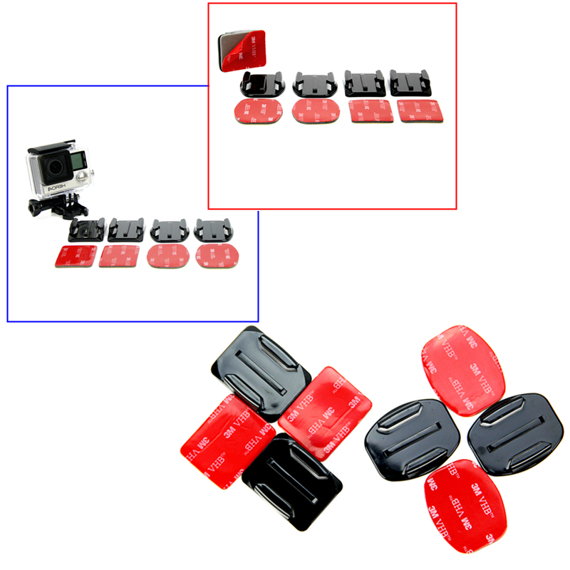 Free Shipping Go pro Accessories kit for gopro hero 4 M20 SJ5000 EKEN H9R xiaomi yi accessories sjcam Accessories GS48