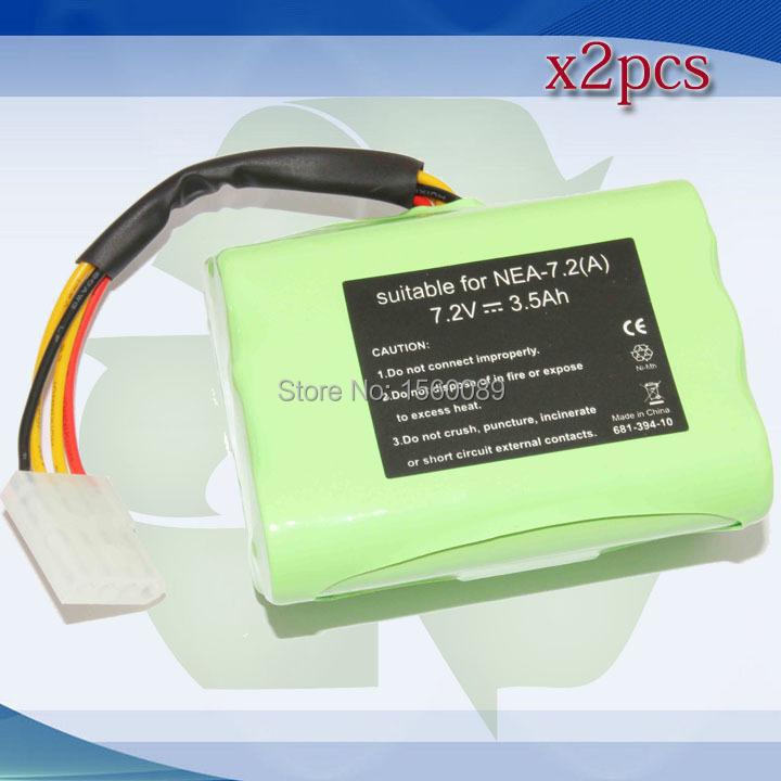 2x 3500mAh Neato XV-11 XV-12 XV-14 XV-15 XV-21 Robotic Cleaners Battery(China (Mainland))