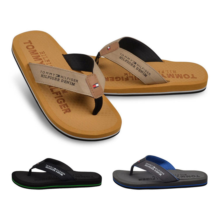 2015 Flip Flops Men Leisure 5 Colors Flat Soft Beach Slippers Plus Size 40-45 Genuine Brand - Meaning even Mandy store