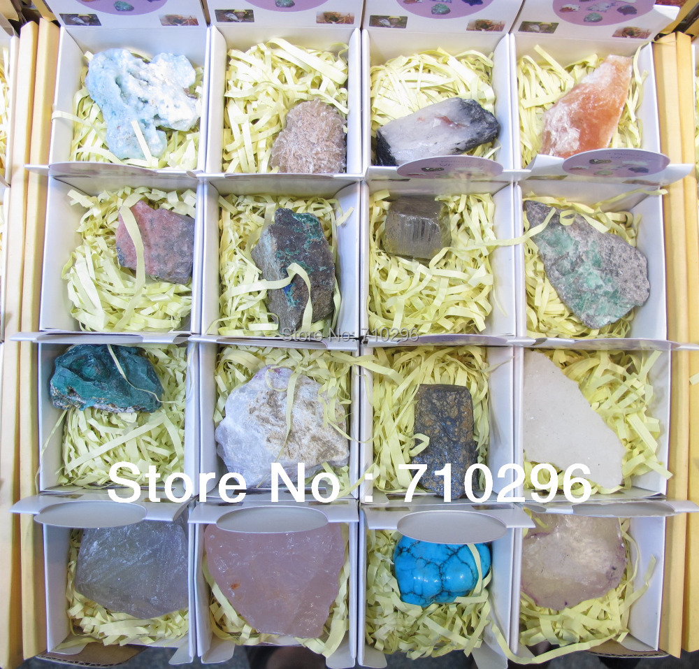 wholesale 32pcs/lot Mixed natural gem stone Mineral Specimens wholesale minerals,free shipping<br><br>Aliexpress