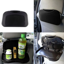 1pcs NEW Folding Auto Car Back Seat Table Drink Food Cup Tray Holder Stand Desk Hot Worldwide(China (Mainland))