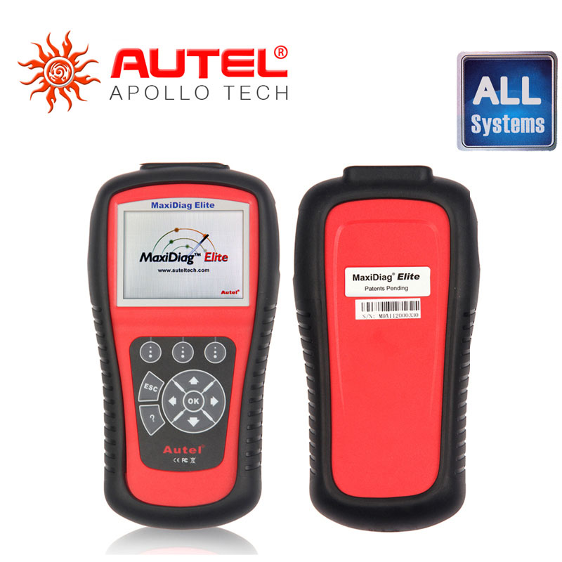 [Autel Distributor] Autel MD802 MaxiDiag Elite Scan Tool Full system engine transmission ABS & Airbag All System Diagnostic Tool(China (Mainland))