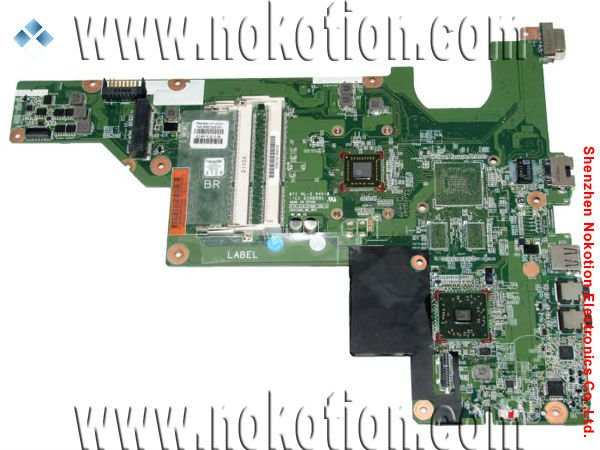 free shipping On sale 657323-001 laptop computer motherboard for HP CQ43 G43 integrated DDR3 Full Tested EME450 CPU onboard(China (Mainland))