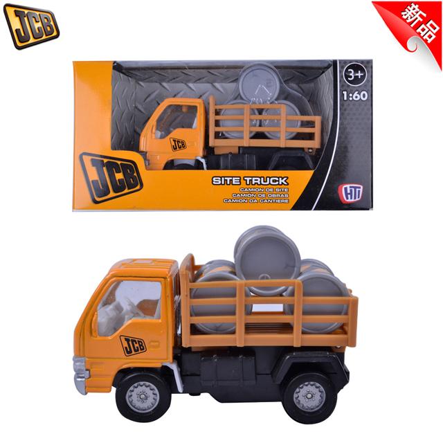 Jcb alloy engineering car tank model transport vehicle small truck boy toy in box