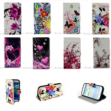 Buy Luxury Flower Pattern Leather Wallet Flip Cover Case Alcatel One Touch Pop D3 4035/C7 7040/C9 7047/S9 7050 Grand Prime Shell for $3.12 in AliExpress store