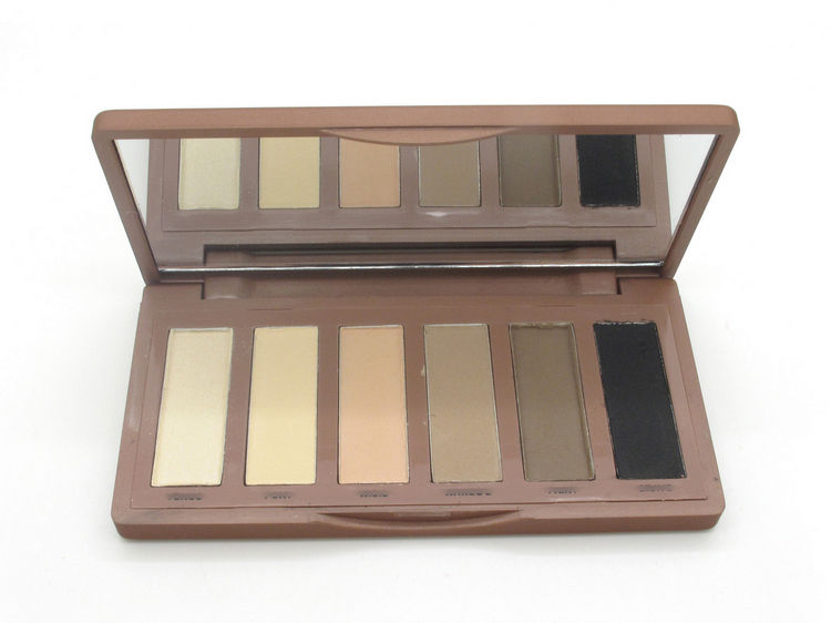 2014 NEW Arrival makeup Nake Basic Eye Shadow Palette, 6 collors Eyeshadow Make UP Set(China (Mainland))