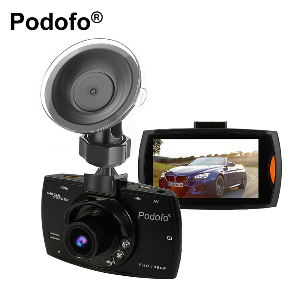 Original Podofo Car DVR Camera G30 Full HD 1080P 140 Degree Registrator Recorder Motion Detection Night Vision G-Sensor Dash Cam(China (Mainland))
