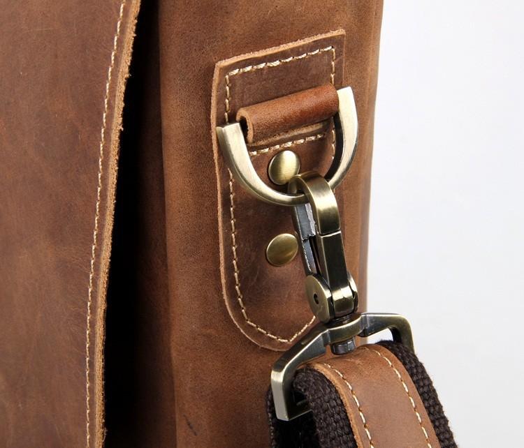 ซื้อ Nesituที่มีคุณภาพสูงวินเทจจริงCowhideบ้าม้าหนังแท้ผู้ชายของMessengerกระเป๋ากระเป๋าเอกสารผลงาน# M7229