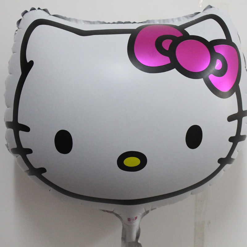 Lovely Hello Kitty Cat Head Balloon for Party Decoration Inflatable Helium Foil Balloon<br><br>Aliexpress