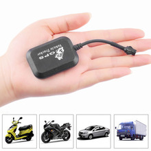 Mini GPS GPRS GSM Realtime SMS Network Vehicle Tracker Vehicle free shipping