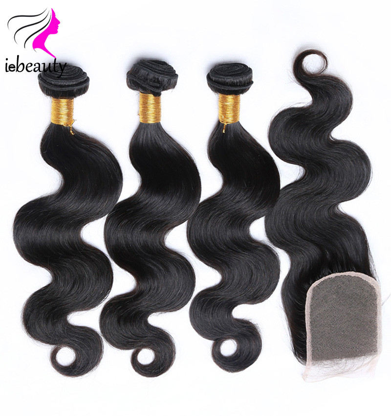 Peruvian Body Wave With Closure 7a Peruvian Virgin Hair Closure Unprocessed Peruvian Human Hair With Closure Black Friday Deals