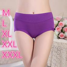 Womens Underwear Lingerie XXXl Large Size Pants Bamboo Briefs Big Size Underwear Women Comfort Women Underwear Panties