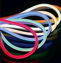 free shipping 50m/lot 12v 80pcs led/M mini LED Neon Flex tubes /LED soft neon light / waterproof flexible led strip(China (Mainland))